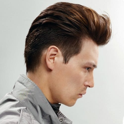A quiff hairstyle man