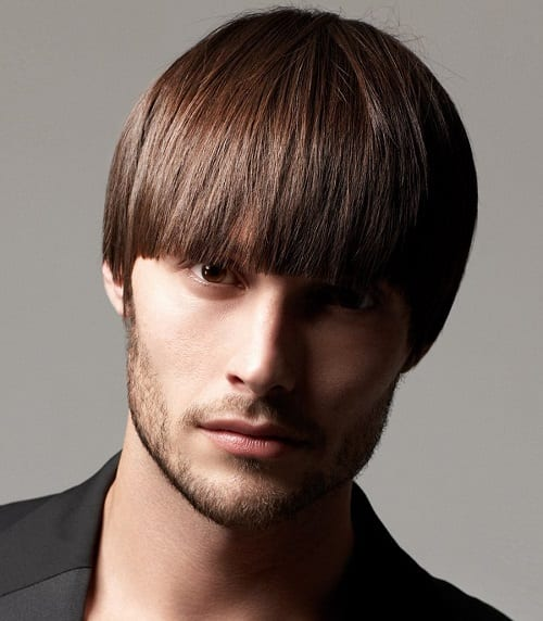 Bowl Cut men hairstyle