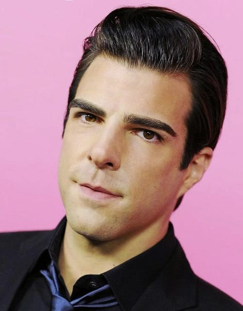 Clean-shaven facial hairstyle