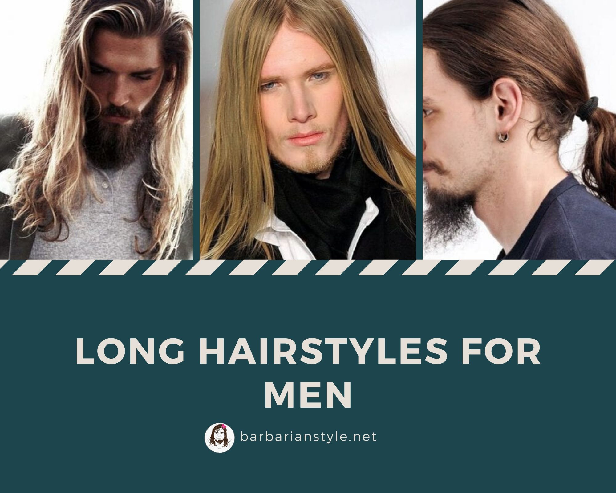 Will i look good with long hair guy