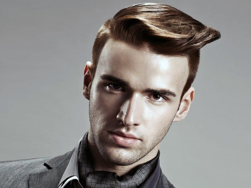 A fellow with a modern unique hairstyle