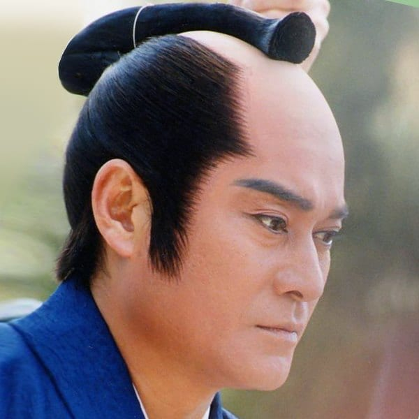 A Chonmage Hairstyle For Men