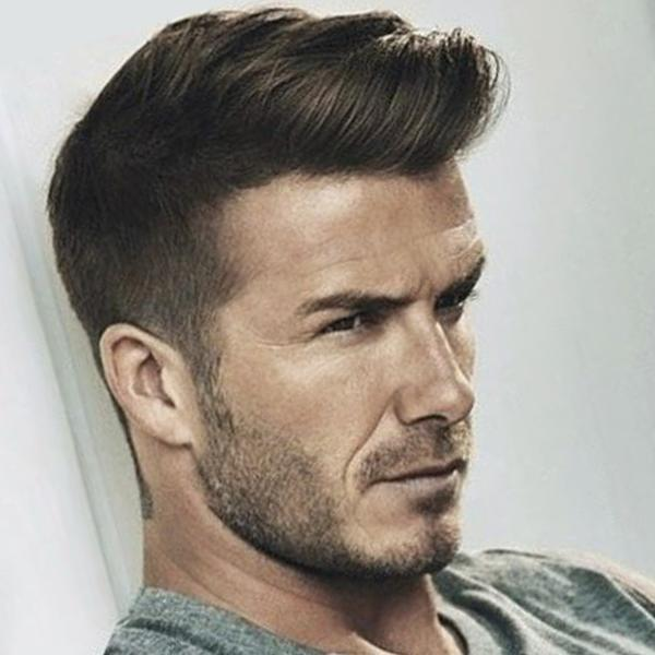 A fade hairstyle for men