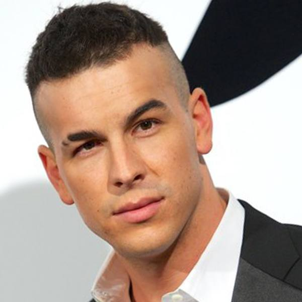 A high and tight male hairstyle