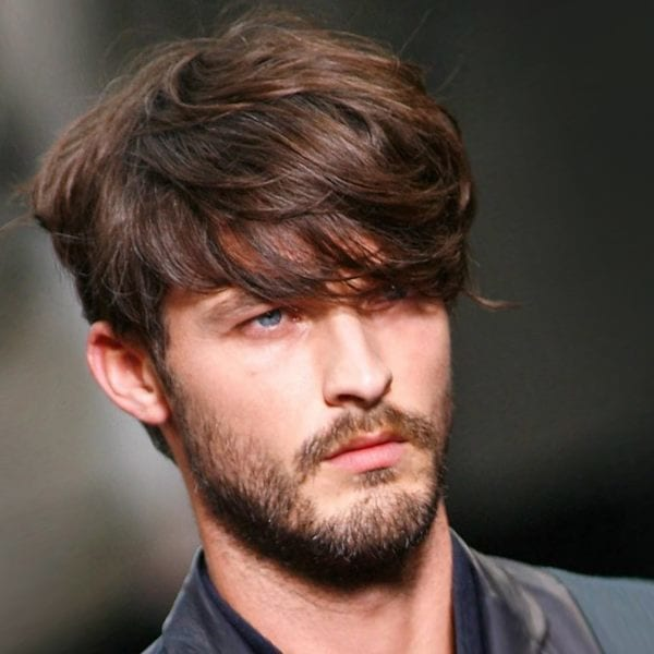 A mop-top hairstyle for men