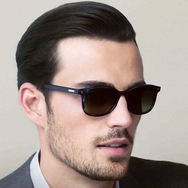 how to get slicked back gangster hair