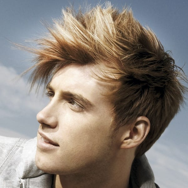 Easy Rock Star Mohawk hairstyles for boys