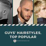 Guys' Hairstyles, Top popular