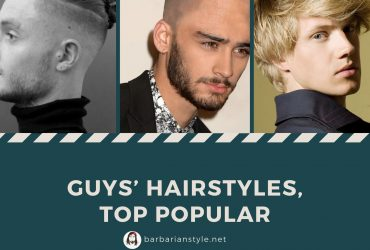 Guys' Hairstyles, Top popular