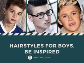 Hairstyles for boys, be inspired