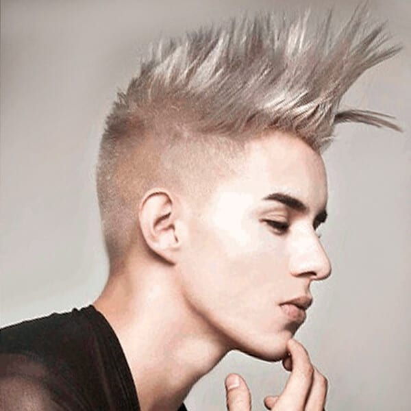 Undercut hairstyle for men Undercut Mohawk