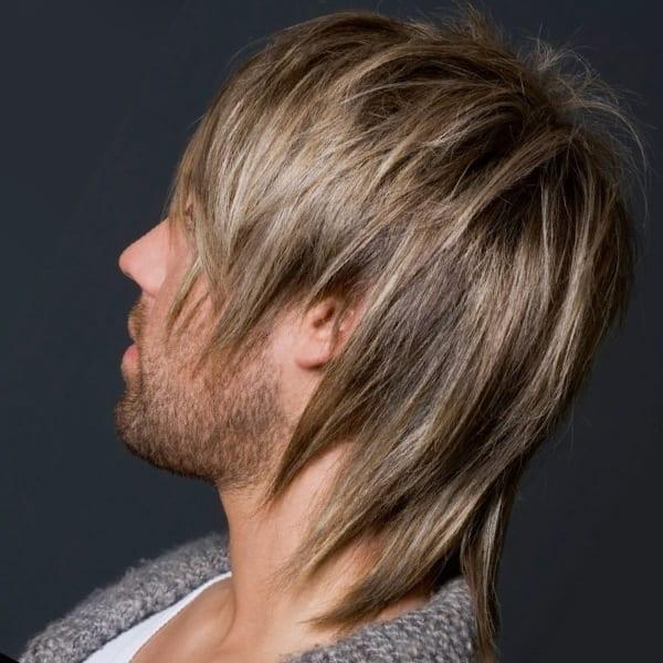 The Medium-Long Scissor Cut hairstyle