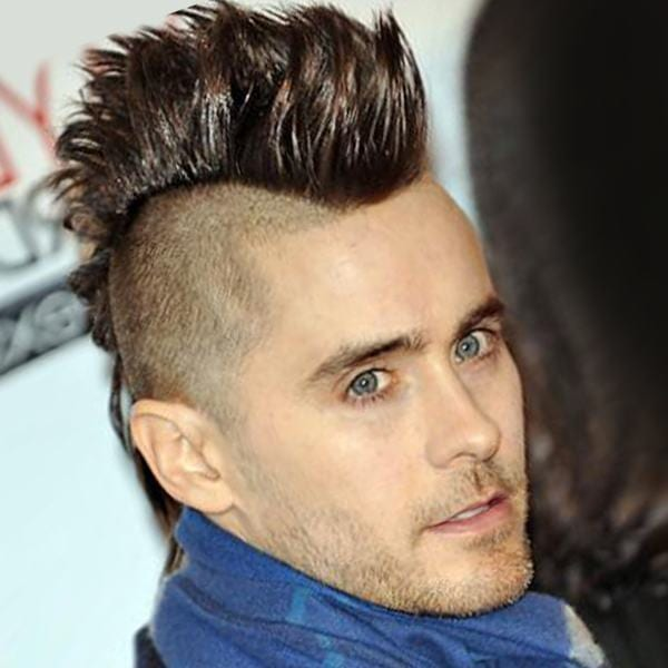 The Spiky Fringe guy hairstyle
