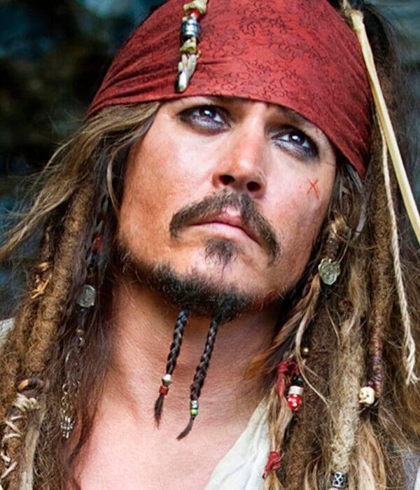 Captain Jack cool beard style