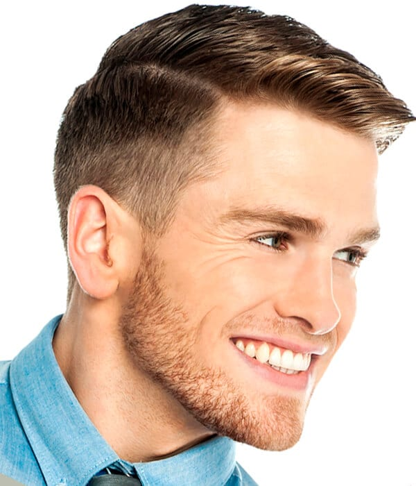 The Classic Taper Haircut is the quintessential man's haircut. It is easy to maintain, short, masculine and absolutely never goes out of style. If I had to choose one haircut that is completely appropriate for almost all men, of all ages and lifestyles, this would be the cut.
