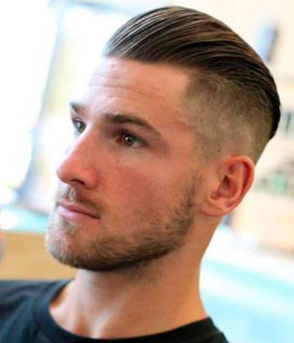 Disconnected undercut for men
