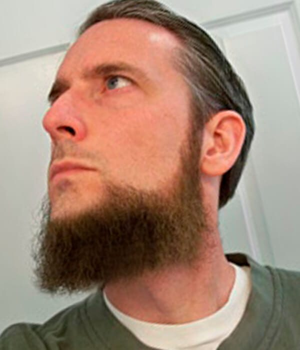 Dutch long beard style