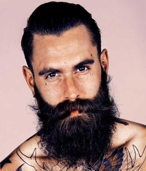 Garibaldi Full Beard Style
