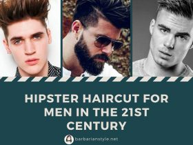 Hipster haircut for men in the 21st century