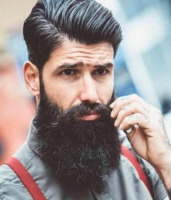Sensational Beard Styles For Men Short Hairstyles Gunalazisus