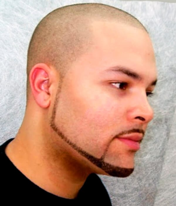 Pencil Short Beard Style