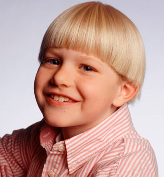 bowl haircut for little boys
