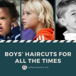 Boys' haircuts for all the times