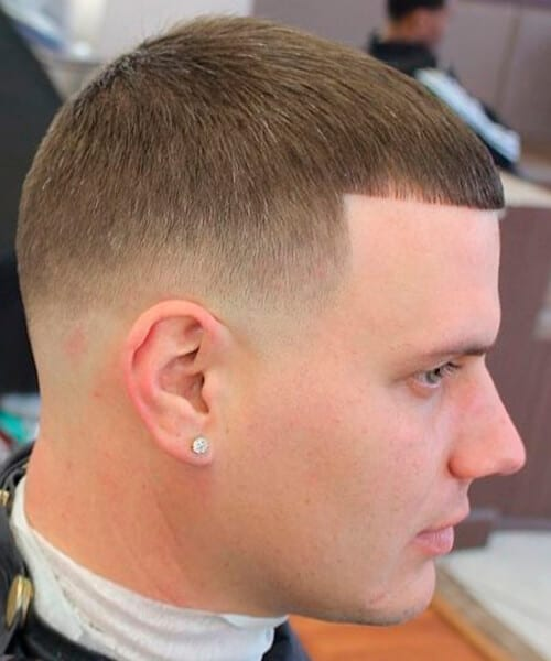 Stupendous Fade Haircut For Handsome Men Hairstyle Inspiration Daily Dogsangcom