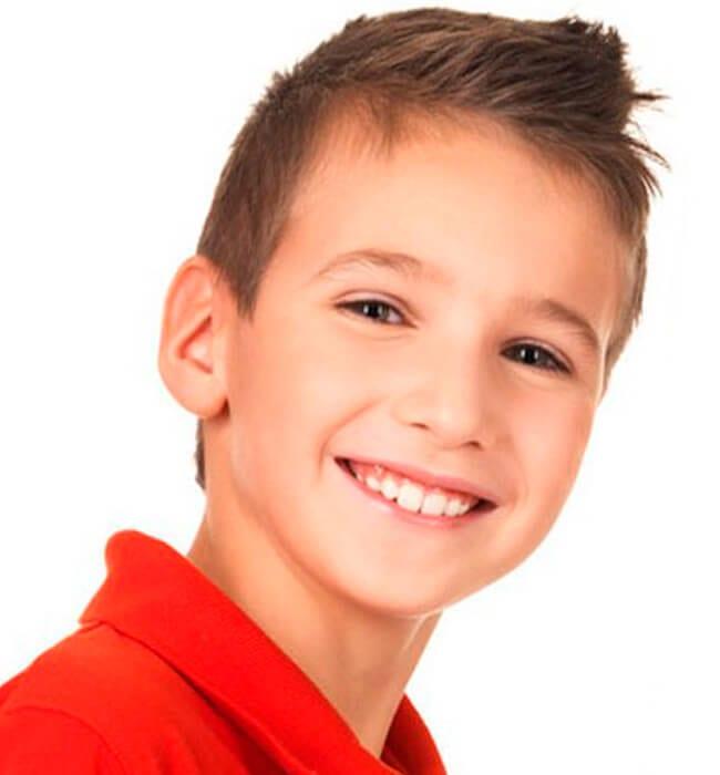 Fauxhawk haircut for boys