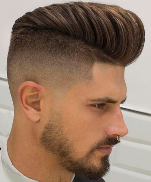 Swell Fade Haircut For Handsome Men Short Hairstyles Gunalazisus