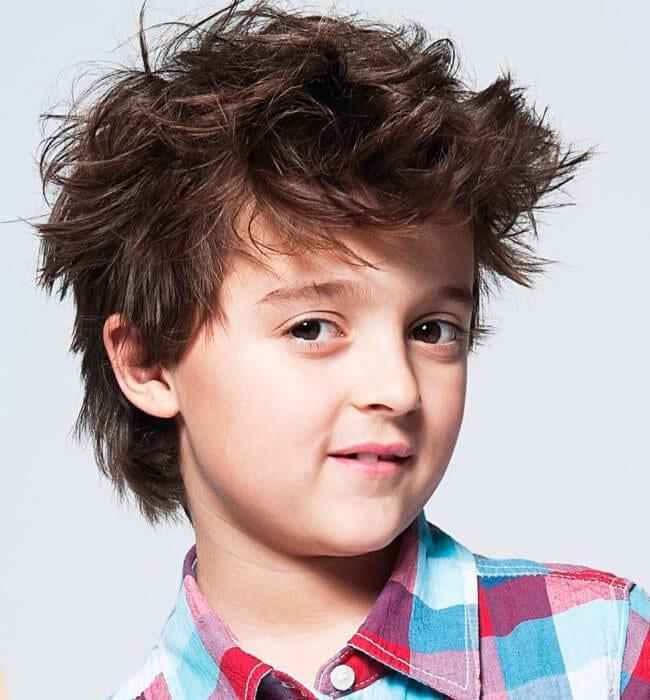 Little rascal haircut for boys