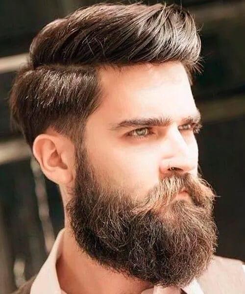 Lumberjack fade haircut for men