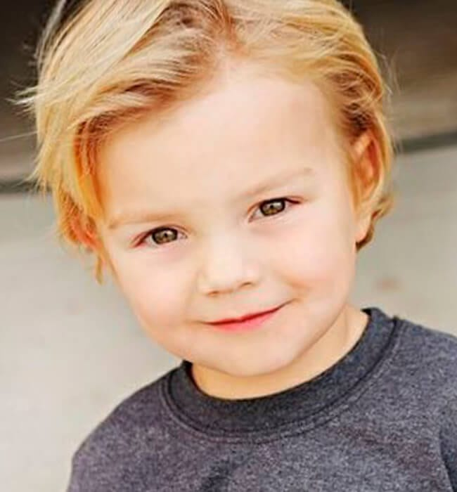 Fine Pictures Of Toddler Boy Haircuts Best Hairstyles 2017 Short Hairstyles Gunalazisus