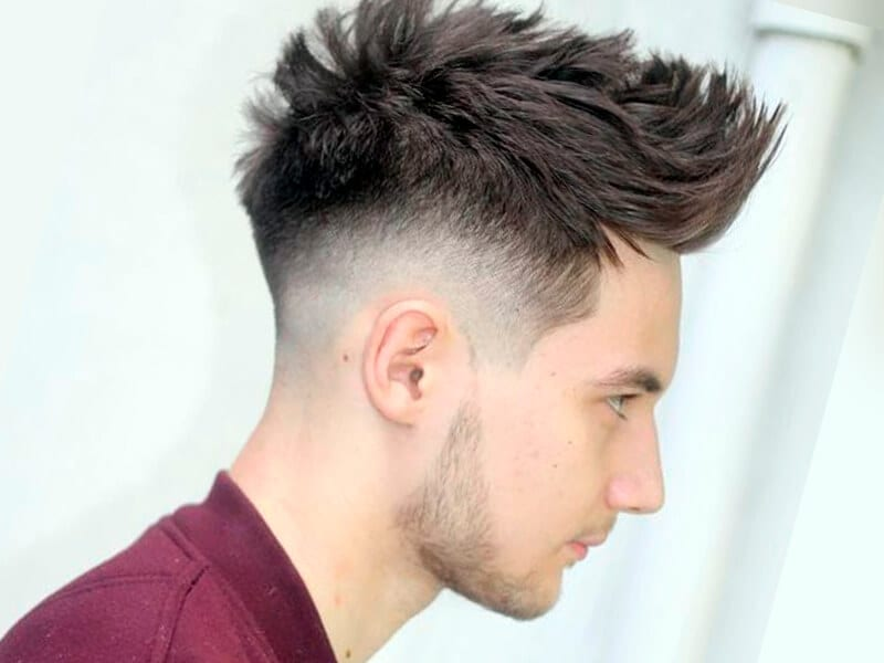 Mens Hair Cut Style: Fade Haircut For Handsome Men