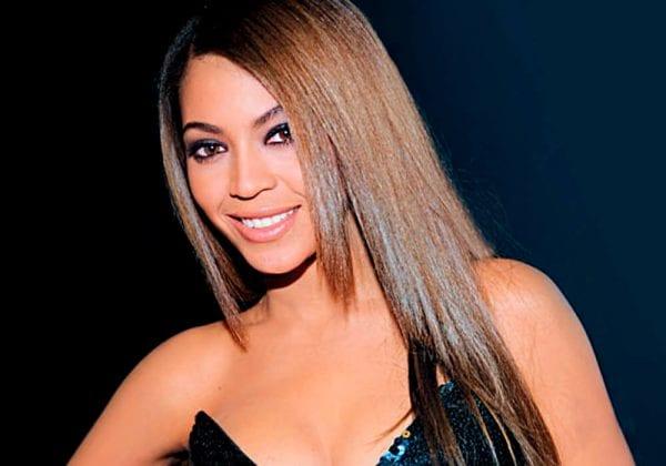 a girl with Sleek straight hair