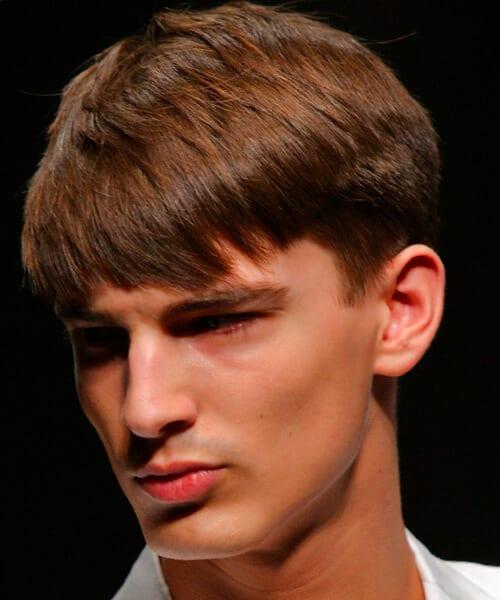 Teen guy hair