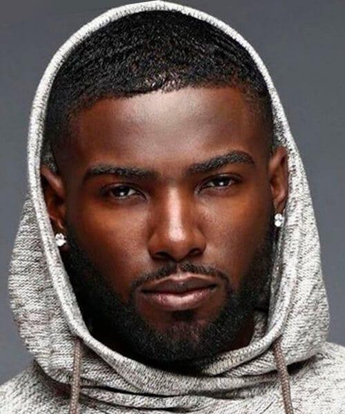 Haircut black man