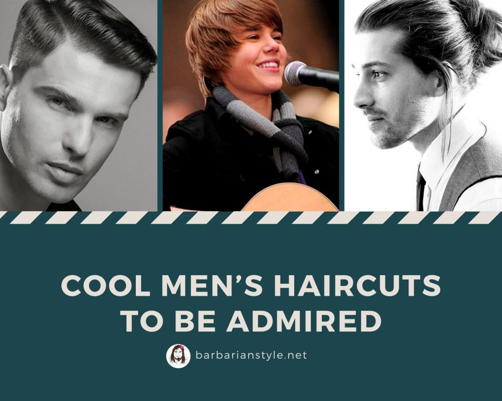Cool men's haircuts to be admired