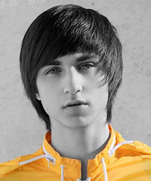 Face framer guys' haircut