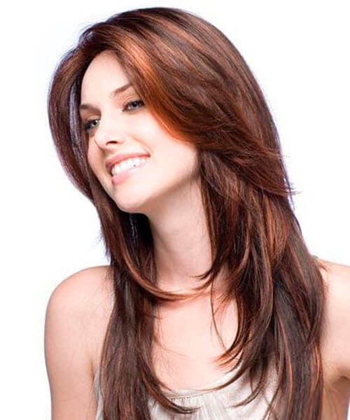 Hairstyles For Long Hair Layered Cuts : Front layers pretty hairstyle for long hair