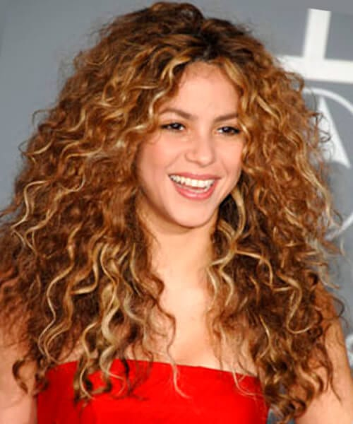 Long With Tight Curls Pretty Hairstyle For Long Hair