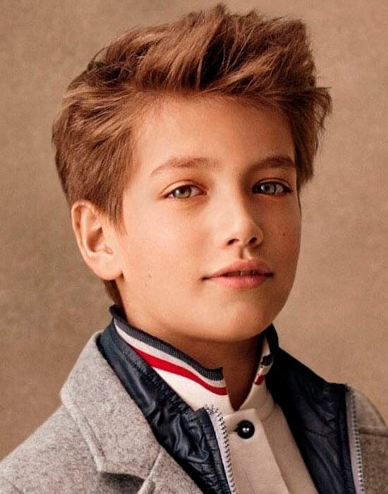 Lovely Cool Haircut For Boys
