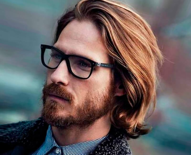 Layered Long Hairstyle For Men