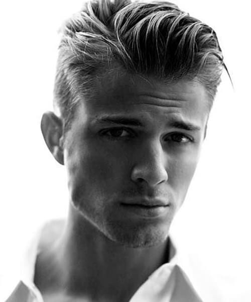 Perfectly undone haircut for guys