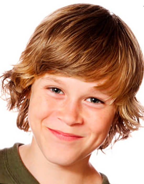 Shaggy cool haircut for boys