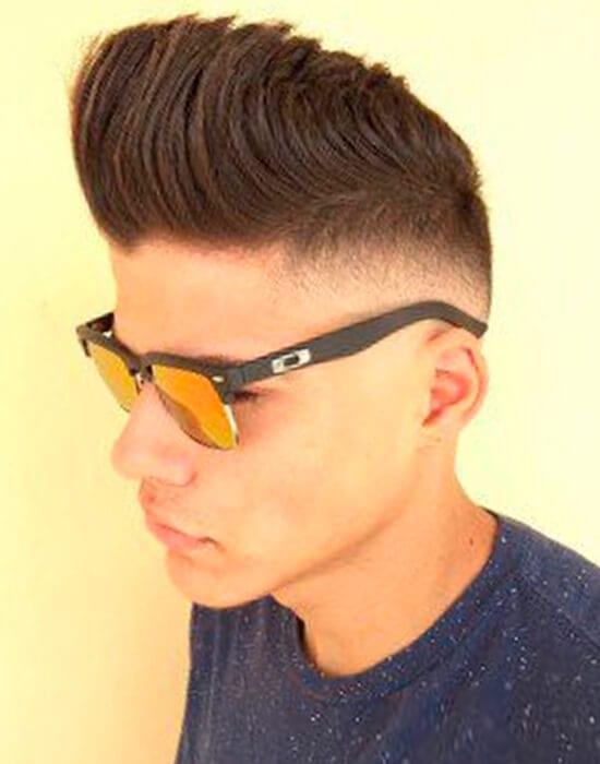 Sharp angles cool haircut for guys