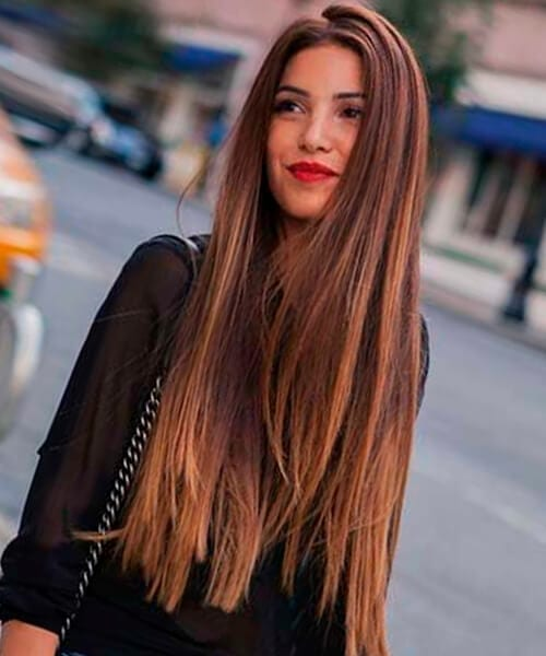 Super Long Hair Pretty Hairstyle For Women