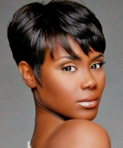 Hair Styles For Short Hair : Short Hairstyles African American Prom Hair likewise Short Curly Weave ...