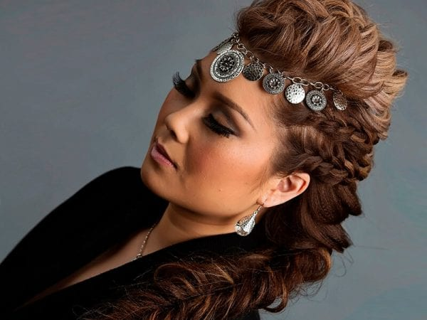 Enhance your braided hairstyle