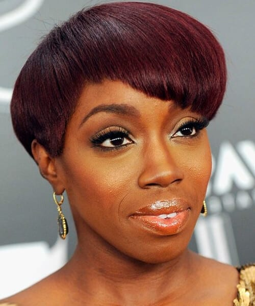 Estelle celebrity short hairstyle